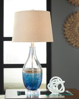 Johanna Glass Table Lamp Set
