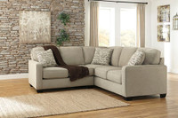 Perez Fabric Corner Sofa Beige