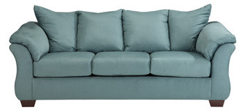 Madison Fabric Sofa Sky