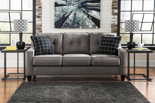 Hudson Queen Sofa Bed Grey
