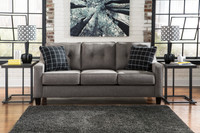 Hudson Queen Sofa Bed Grey
