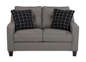 Hudson Love Seat Grey