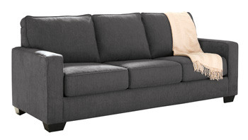 Shelby Queen Sofa Bed grey fabric