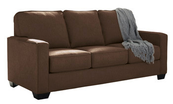 Shelby Double Sofa Bed brown fabric