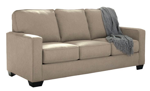 Shelby Double Sofa Bed beige fabric