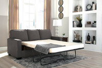 Shelby Double Sofa Bed grey fabric