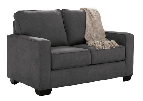 Shelby Twin Sofa Bed grey fabric
