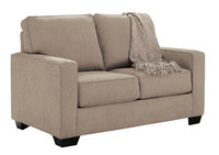 Shelby Twin Sofa Bed beige fabric