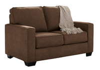 Shelby Twin Sofa Bed brown fabric