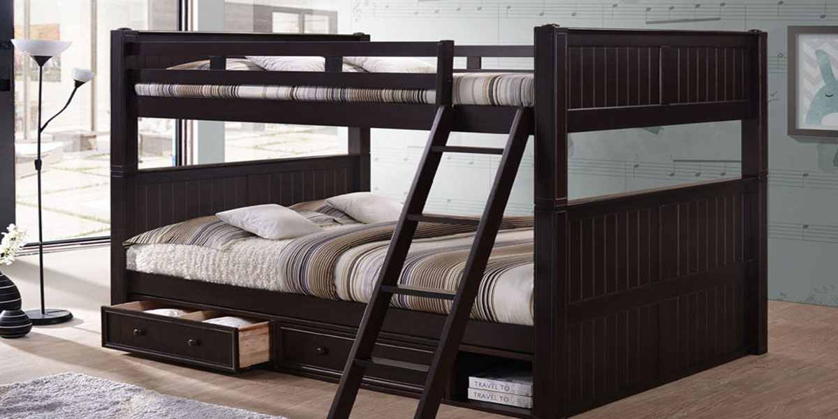 Queen over Queen Bunk bed