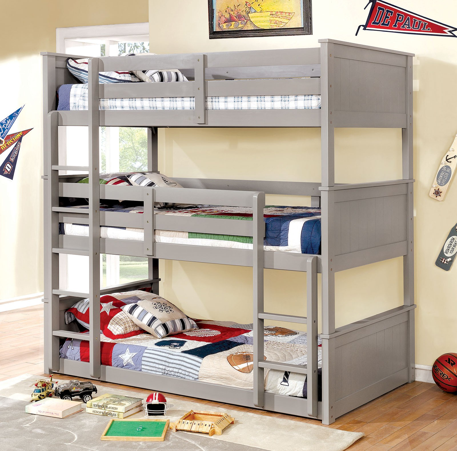 Aspen Triple Decker Bed