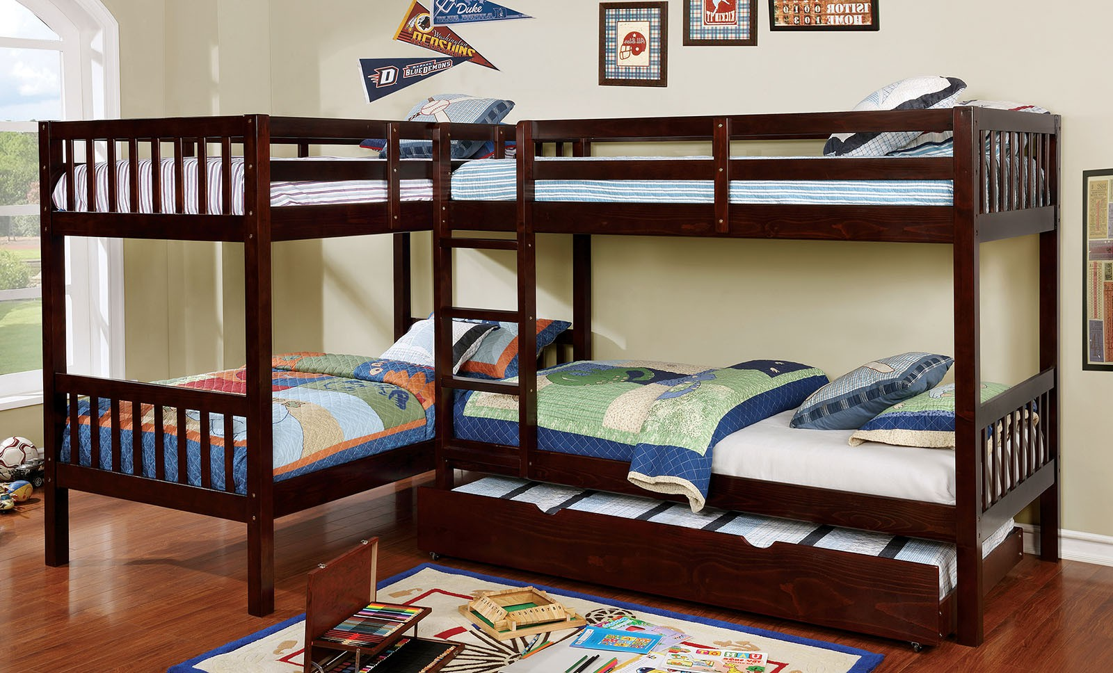 Quadruple Bunk Bed