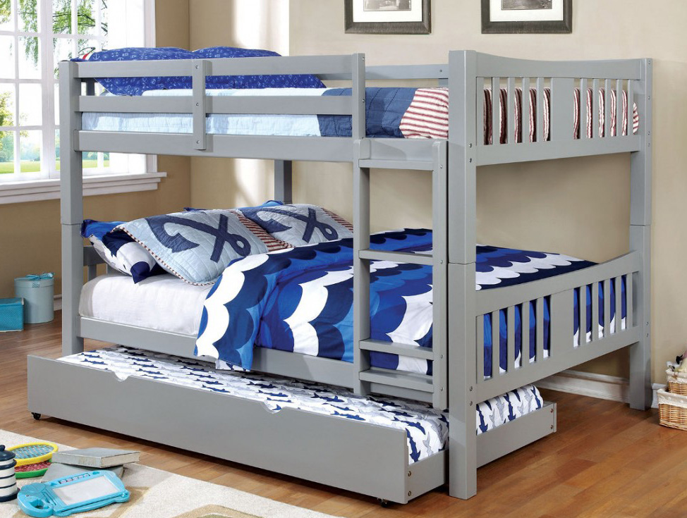 Felix Wood Full over Full Bunk Bed