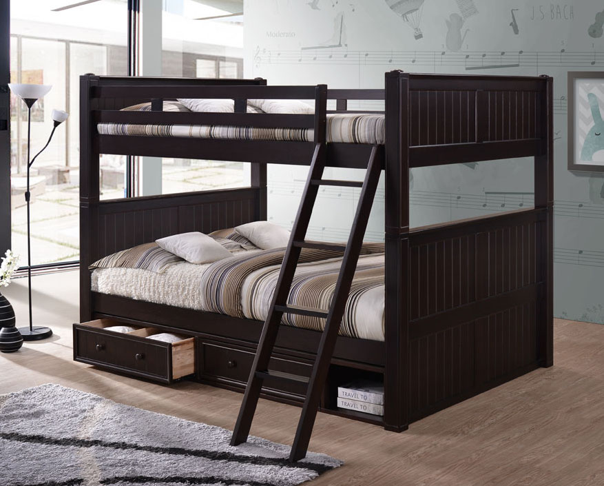Dillon Classic Queen over Queen Bunk Bed