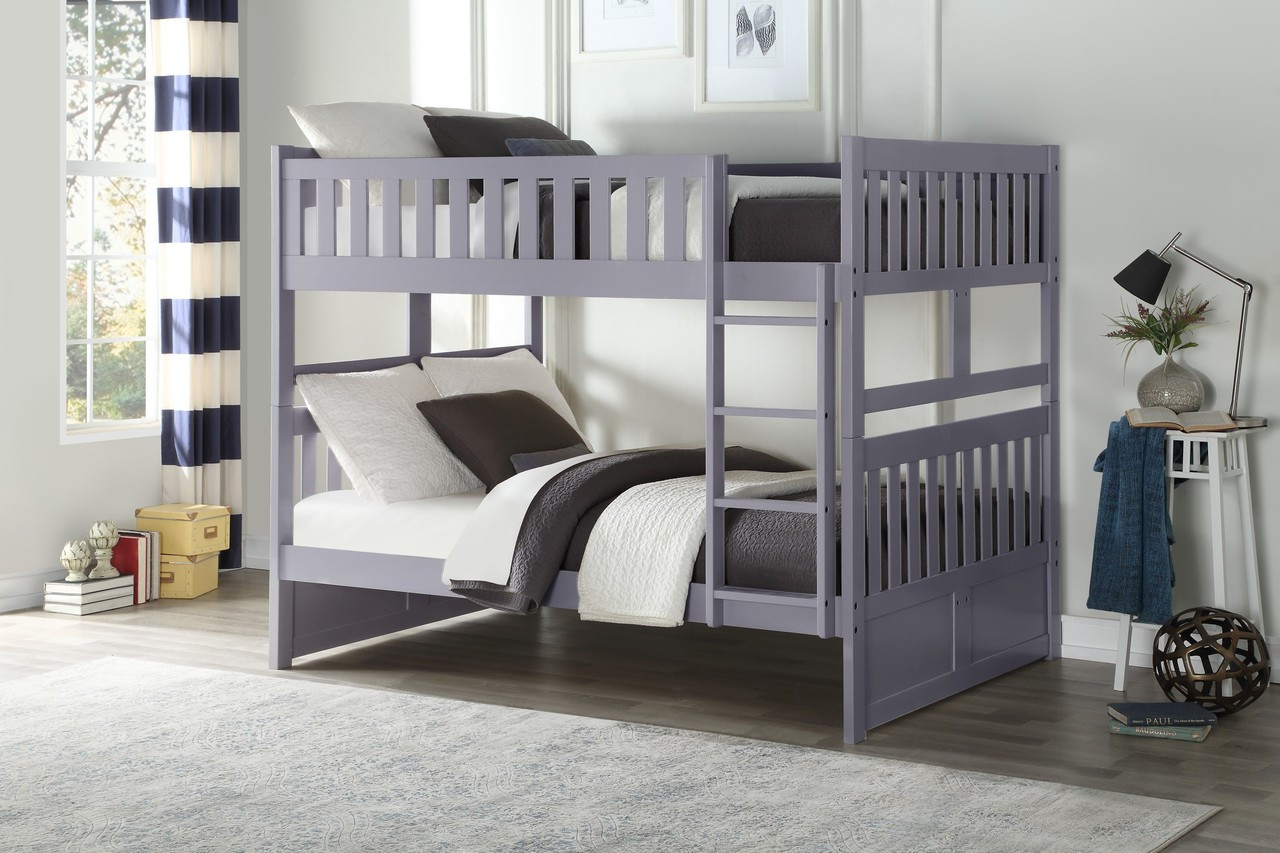 Charlton Wood Full Size Bunk Bed Just Bunk Beds
