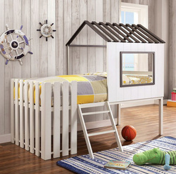 Picket Fence House Design Bunk