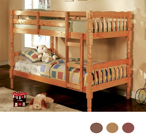 Ethan Classic Twin Wood Bunk Frame