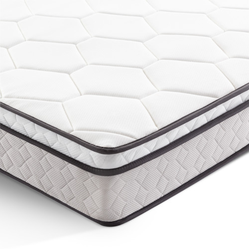 "Bay Shore 8"" Plush Hybrid Mattress"