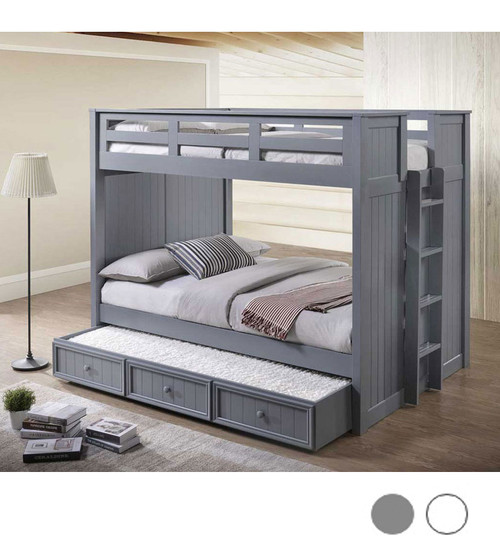 Austin Bead Board XL Full Size Bunk Shown with Trundle