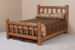 Lodge Rustic Little Jack Barnwood Bed