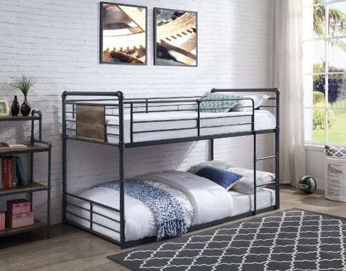 Twin Bunk Bed Low Profile