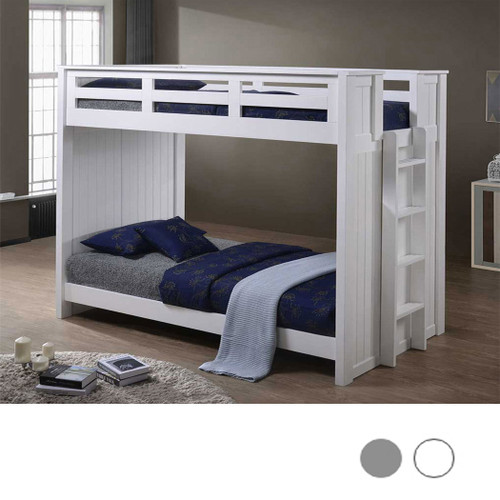 Austin XL Twin over XL Twin Bunk in White Finish