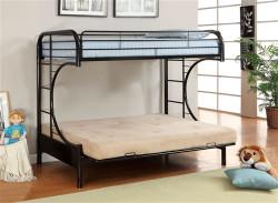 Futon Bunk Beds Futon Bunk Bed Wood Metal