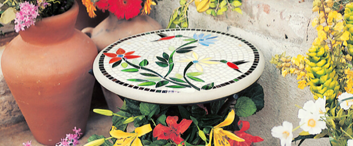 KNF Mosaic Tables
