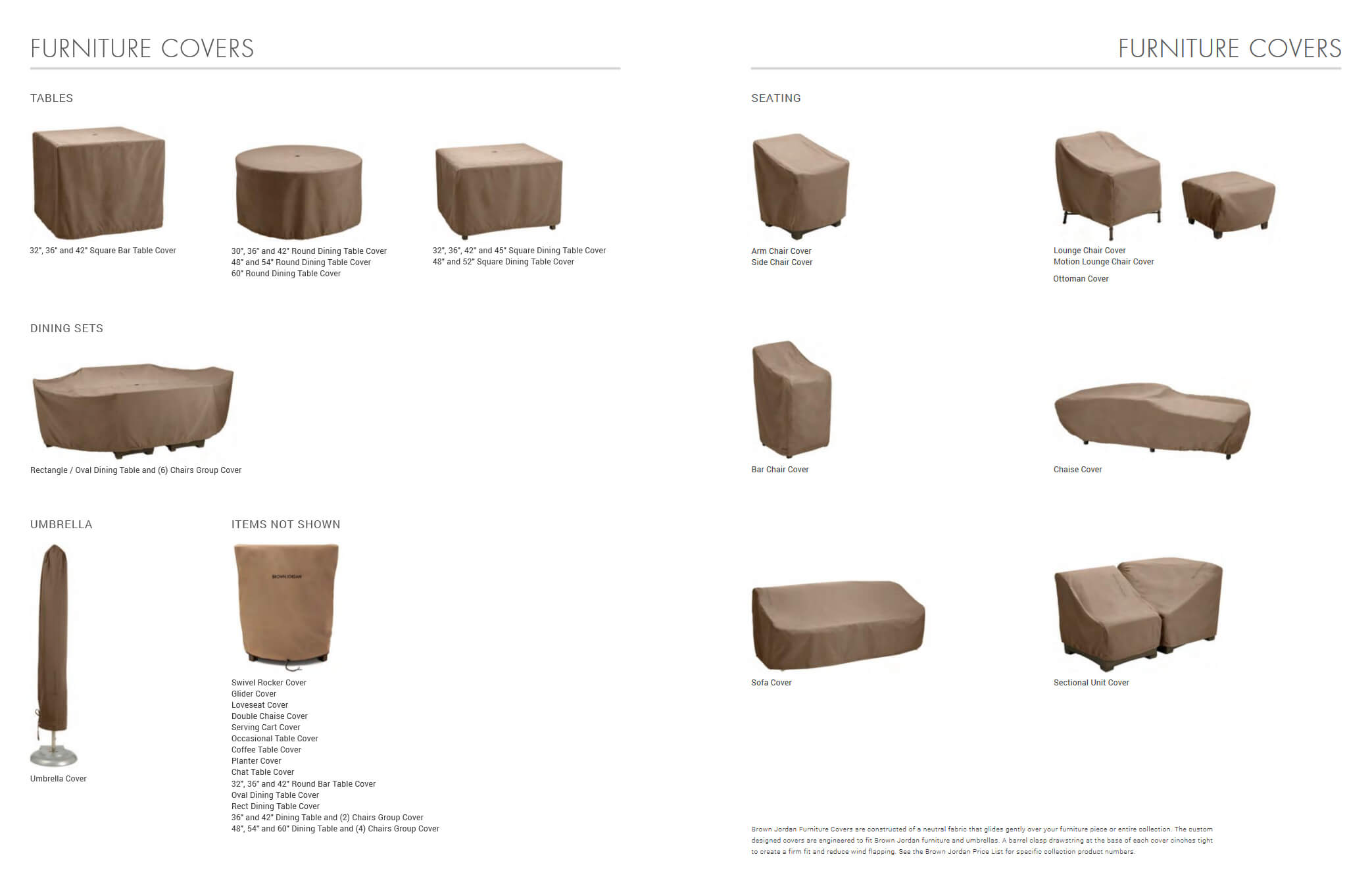 Superb Furniture Covers Brown Jordan Furniture Covers Into The Gmtry Best Dining Table And Chair Ideas Images Gmtryco