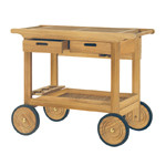 Kingsley Bate Teak Serving Cart