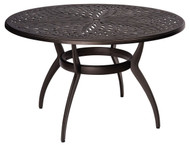 "Woodard Apollo 48"" Round Dining Table"