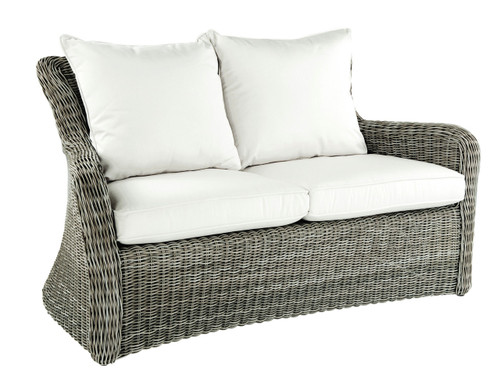 Kingsley Bate Sag Harbor Love Seat - Outdoor Wicker Love Seat