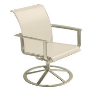 Brown Jordan Flight Motion Dining Arm Chair