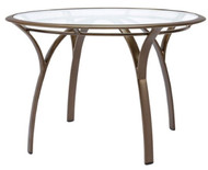 "Brown Jordan Pasadena 42"" Round Table w/Glass Top"
