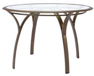 "Brown Jordan Pasadena 42"" Round Table w/Glass Top"