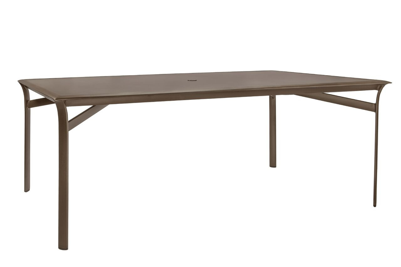 Brown Jordan Pasadena 79 Rectangular Dining Table W Solid Top