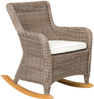 Kingsley Bate Sag Harbor Wicker Outdoor Rocker