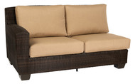 Woodard Saddleback Sectional Left Facing Loveseat