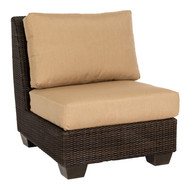 Woodard Saddleback Sectional Armless Chair