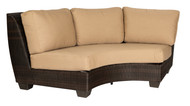 Woodard Saddleback Sectional Curved Unit