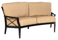 Woodard Andover Crescent Love Seat