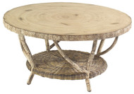 Woodard River Run Birch Top Coffee Table