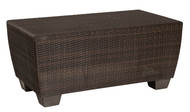 Woodard Saddleback Rectangular Coffee Table