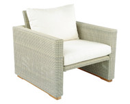 Kingsley Bate Westport Outdoor Wicker Lounge Chair