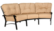 Woodard Cortland Crescent Sofa
