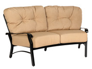 Woodard Cortland Crescent Love Seat