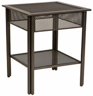 Woodard Jax Micro Mesh Side Table