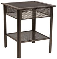 Woodard Jax Micro Mesh Side Table