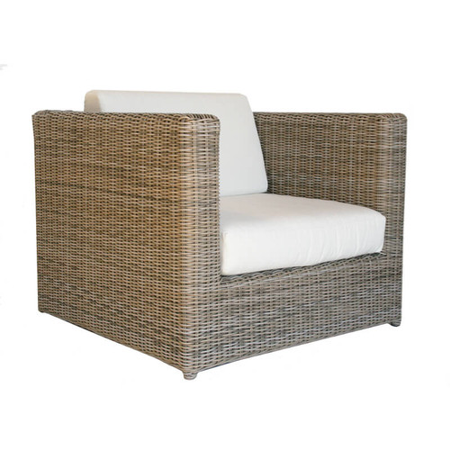 Kingsley Bate Sag Harbor Outdoor Wicker Chat Chair