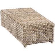 Kingsley Bate Sag Harbor Curved Sectional Outdoor Wicker Wedge/Table